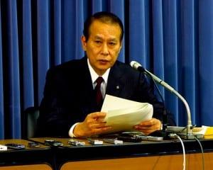 会合の内容について説明する鎌田座長