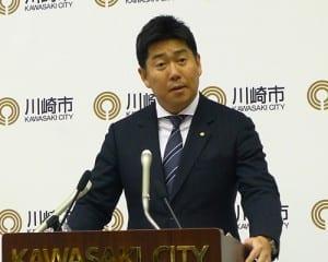 今後の審理を「見守っていく」と語る福田市長
