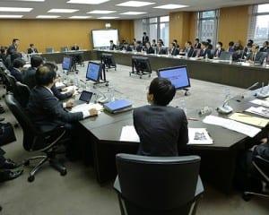 初会合が開かれた「2020年代に向けた教育の情報化に関する懇談会」