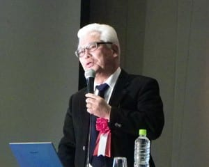 ICTを活用したアクティブ・ラーニングを語る赤堀侃司氏