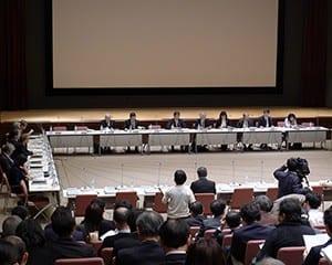 同会議では、高校基礎学力テストの問題イメージも示された