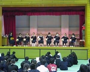 都立白鴎高校は日本の伝統文化教育に力を入れている