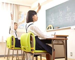 教室に自然な形でなじむピントスクール