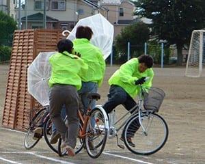 自転車はときに走る凶器と化す