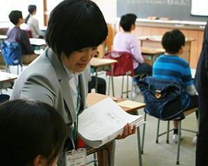 4月19日に都内の小学校で実施された学力調査