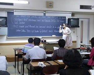 英語教授法の教員研修