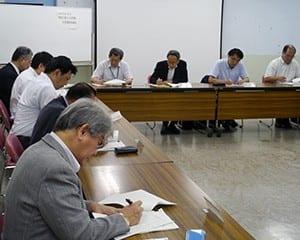 県内関係機関のいじめ対策も報告された