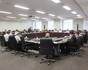 今年度第1回目のいじめ防止対策協議会が開かれた