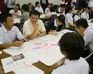 生徒会活動の工夫と改善策を模索した