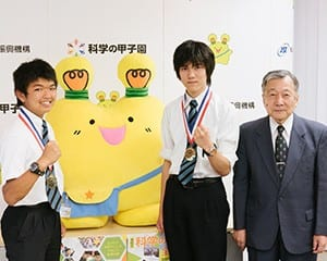 「地域での盛り上がりにも期待したい」と語った伊藤委員長(右)、神田さん(中)、久保田さん