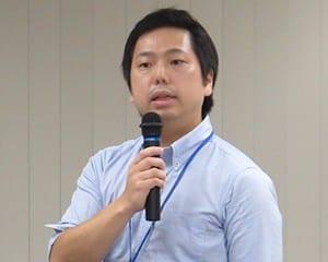 参加者にKJQのガイダンスを行う桂川准教授