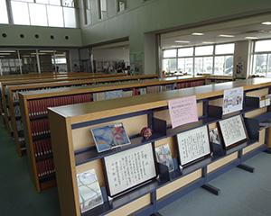 オープンスペースになっている図書館