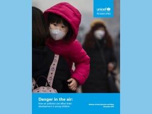 乳児の脳への大気汚染による影響を指摘した報告書