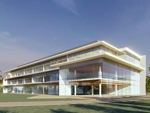 本校舎の完成イメージ