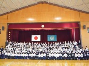 団体の部最優秀賞の愛知県蒲郡市立竹島小学校