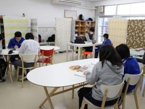 公立の中川西中学校に開設されたフリースクール