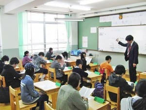 現在は22人の生徒が学ぶ昼間部