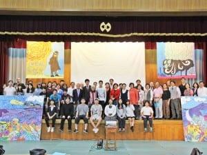 洛友中学校全体で取り組む文化祭