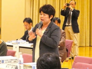 障害者のための生涯学習の重要性を語る宮川大臣政務官
