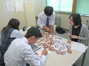 自己理解力の向上を図るカードゲーム(北海道大樹高等学校)