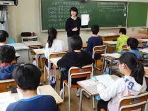 3年ぶりに理科も実施された(東京都内の小学校で)