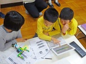 4年生「ににちロボット研究所」