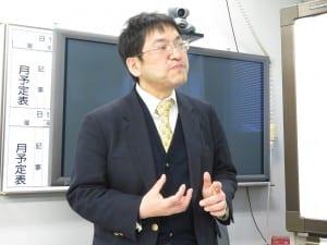地域間格差の問題を指摘する中山准教授