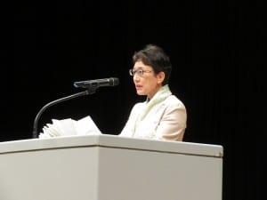 全高長新会長に選ばれた笹都立三田高校長