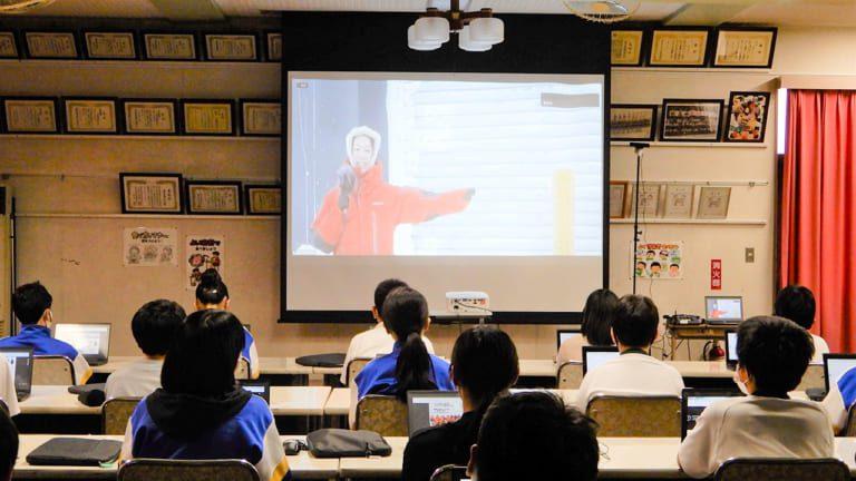 南極からGIGA特別講座 グーグルフォームでクイズ回答
